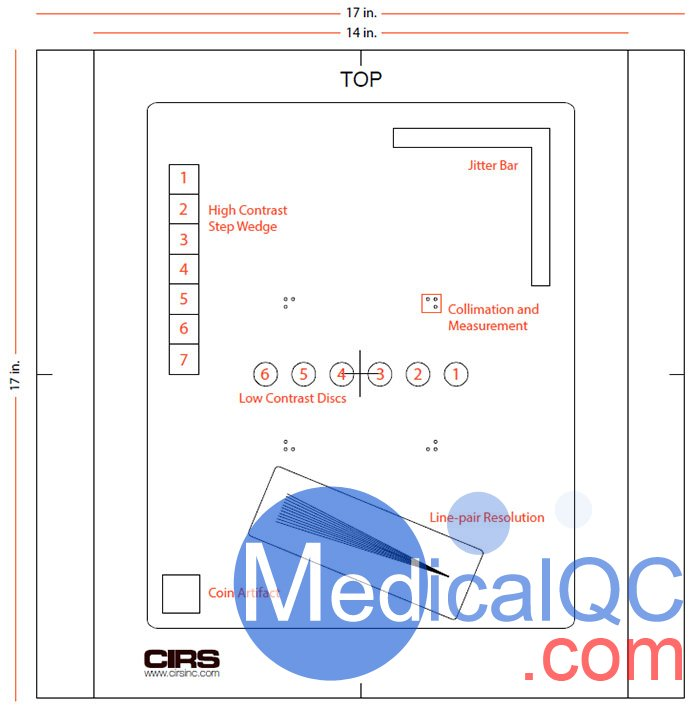 Cirs 139702 DR QC模体,Cirs 139702 DR质控模体