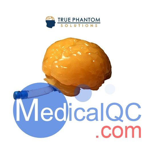 标准成人脑模体,适用于CT、MRI、超声材料制作的脑模体