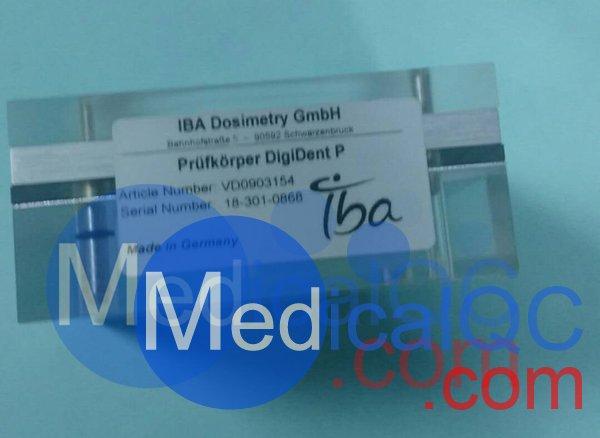 德国IBA Digident数字牙科摄影X光机验收试验测试模体,Digident牙科模体