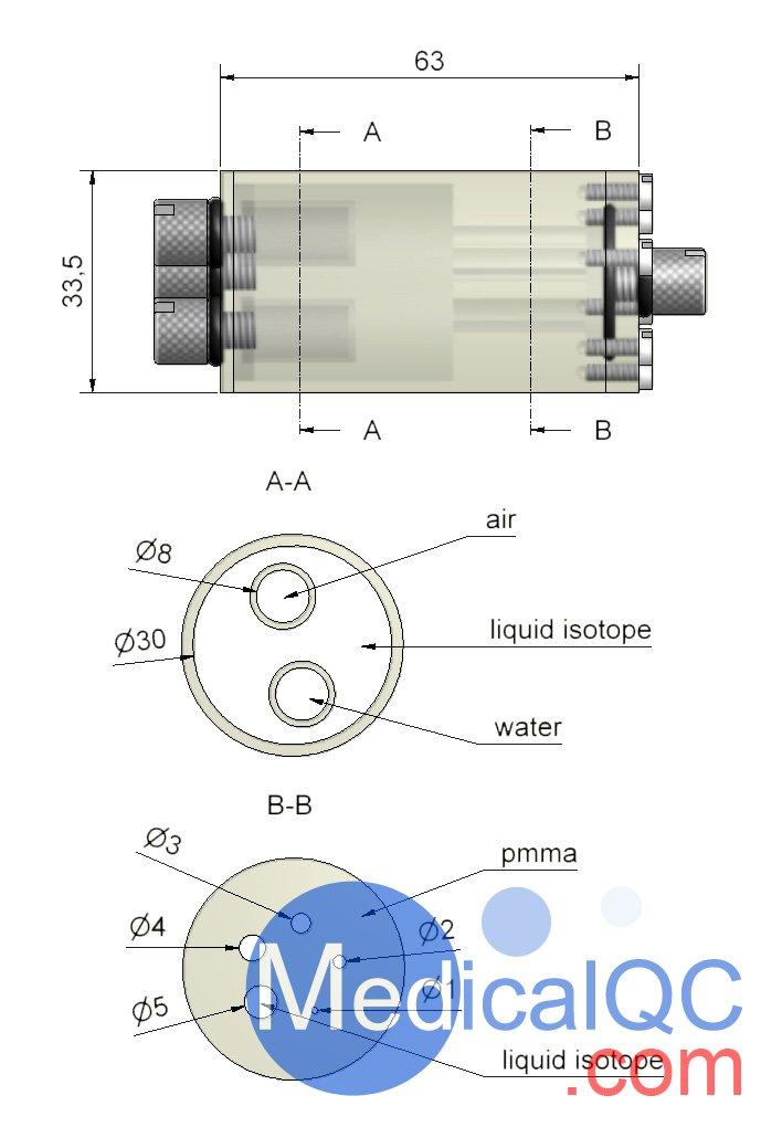 QRM-MicroPET-IQ Pet体模,QRM-MicroPET-IQ Micro-PET性能模体