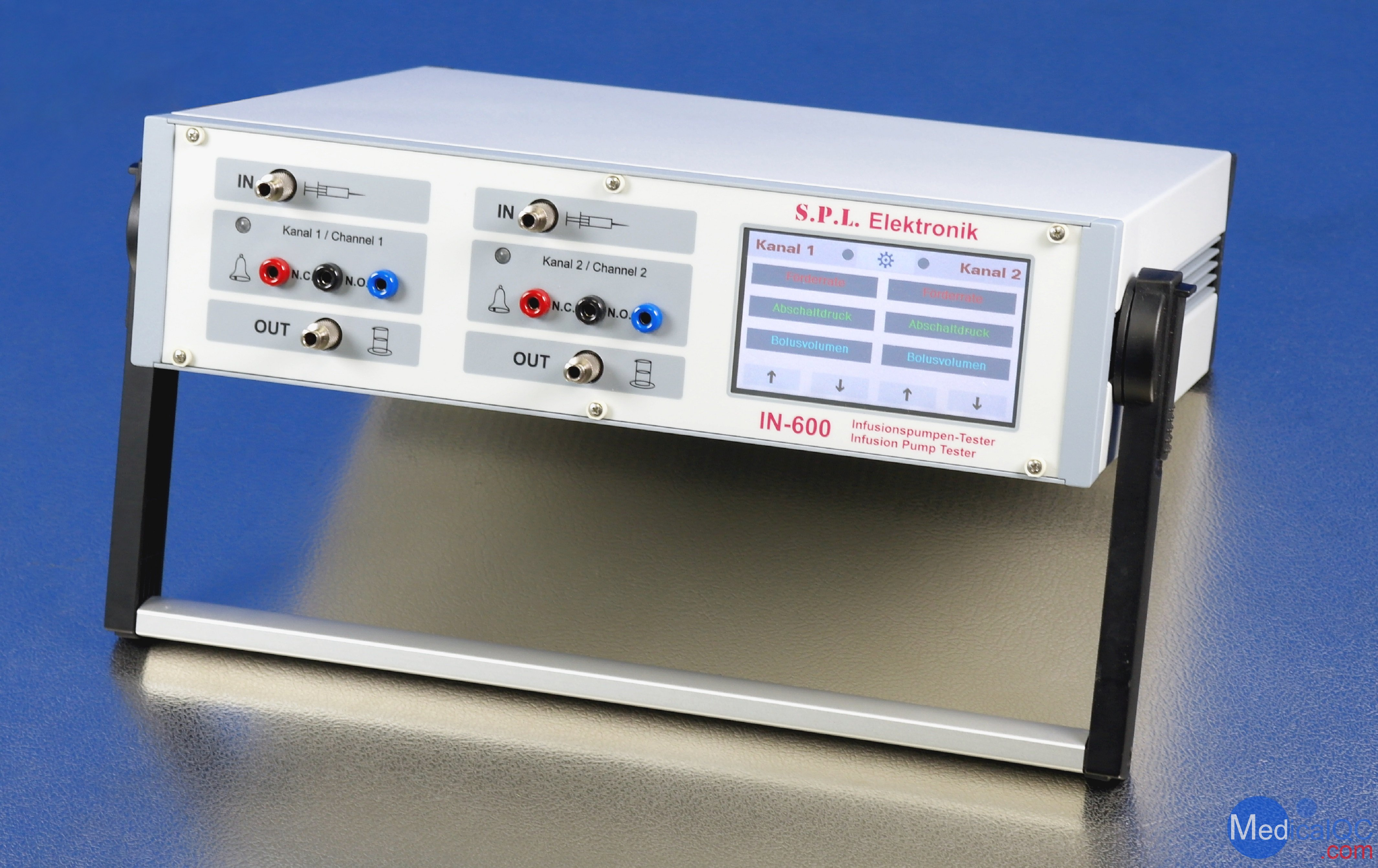 IN-600输液泵分析仪,SPL IN-600注射泵校准仪